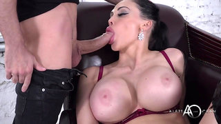 Hungarian hoe Aletta Ocean - Smoking Fetish with mouthful cumshot