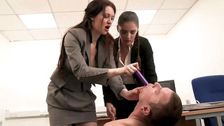 Fetish two womans domination