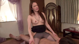 Marvelous Misuzu Tachibana allows guy to cum inside