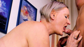german short hair mature granny fucky son