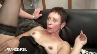 La France A Poil - Horny Older Bitch Gets Anal Fucking