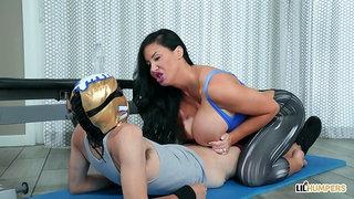 Sybil Stallone enjoys fuckstyle sexual wrestling