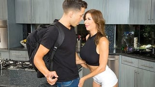 Alexis Fawx Rides A Huge Young Cock