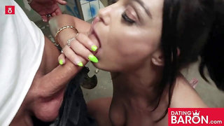 Steaming hot nail date with wild milf messy priscilla! datingbaron