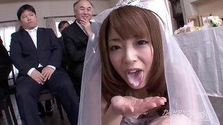 Oomori Mirei Bikini Wedding Gangbang