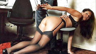 Naughty But Nice Presents PH Spanked In Stockings