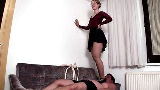 Mommys trampling slaves compilation