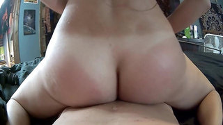 Amazing ass and pussy grinding tease.