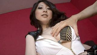 Attractive stubbly Asuka Mimi in wild hardcore drilling