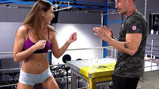 Rocco's Fitness Sluts: Teen Edition - Scene 1