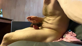 Fucking a whore in a sauna and spitting on her face