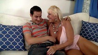 Amazing pornstar Mandi McGraw in incredible blonde, big tits xxx video
