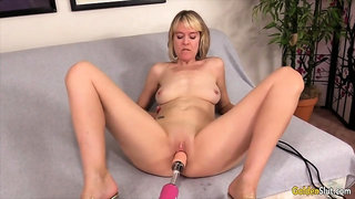 Golden Slut - Matures Vs Machines Comp 6