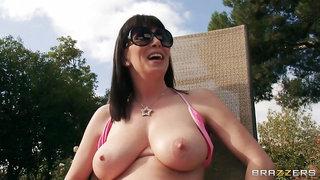 Backyard Boobies - RayVeness, James Deen