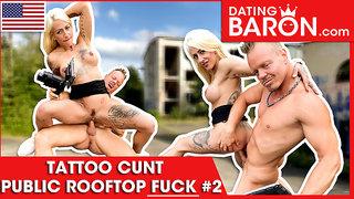 Harleen gets her meathole stuffed hard! Datingbaron.com
