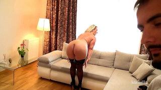 Porno Romania Backstage With Sandy Big Tits