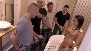 Tori Stone - XXXX - Banged by 5 men