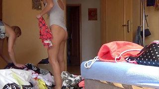 Amateur Babysitter Teen Changing Room Voyeur Dreams