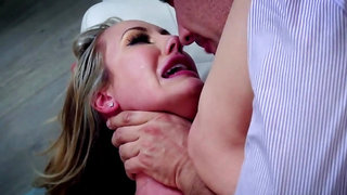Busty MILF loves man and allows him to penetrate her really hard