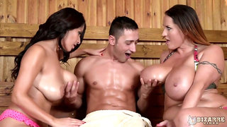 Fantastic Susana Alcala loves MFF threesome in a horny sensual way