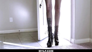 Mylfdom - Tatted Up Hottie Tied Up For Hard Hard Fuck