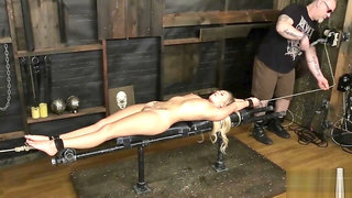 Racked Bailey Brooke - Dungeoncorp BDSM - Bodacious Bratty In Bondage