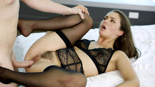 Beautiful Allie Haze cheats on her husband with her hot lover