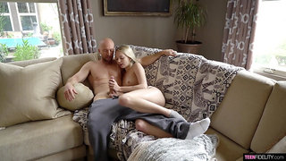 Lovable Lily Larimar loves treating her fella to fabulous fucking