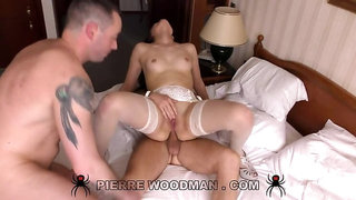 Ester Lamy - XXXX - My first DP was in a bed with 2 men