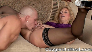 Naughty Housewife Takes Penis - Dana Devine