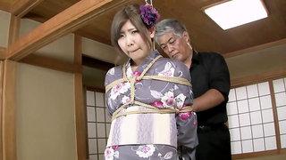 Teen geisha hot bondage porn video