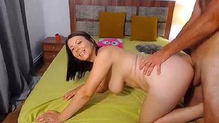 Voluptuous Milf Fucked Hard And Sprayed With Cum On Webcam