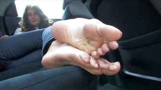Donatela Foot-fetish Long toes