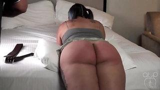 Hard spank