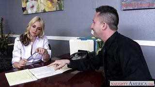 Sarah Vandella,Ike Diezel Naughty Office
