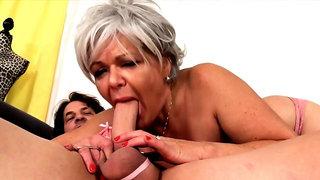 Golden Slut - Older Lady Blowjob Comp 20