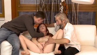 Hairy mature orgy hd first time Unexpected practice with