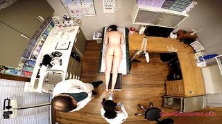 Innocent Shy Teen Gets Spread Eagle By Doctor & Nurse Exam
