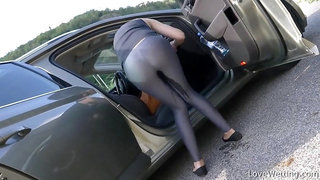 DESPERATE WOMAN WANT TO PEE IN PUBLIC