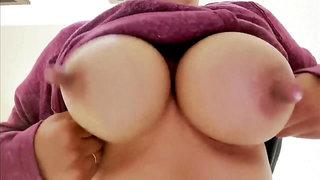 Suckable big nipples