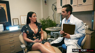 the dentist, Angela White