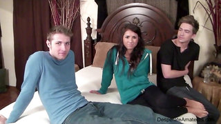 Casting Danielle aka Evi Fox Desperate Amateurs threesome