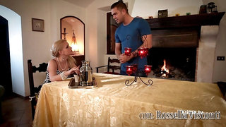 Italian Living Room - romantic sex clip