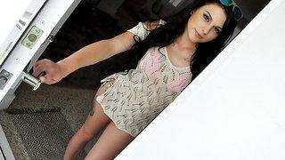 Megan Sage in Cute Brunette Fucks Pervy Plumber - PervsOnPatrol