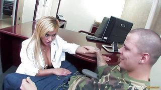 Doctor Shyla Stylez gets what she wants