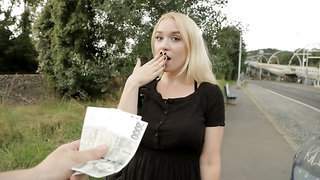 Blonde Russian with Big Naturals
