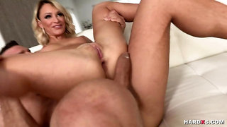 Jenny loves taking cocks in all her tight holes