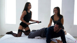 Gia Paige and Karter Foxxx have a lot of fun