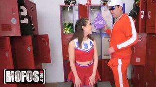 Mofos - Skinny Cheerleader Jane Wilde Gets Fucked In Locker Room