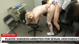Hadley Haze tricked into sex by corrupted pervert doctor